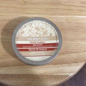 The Body Shop Spiced Vanilla Body Butter